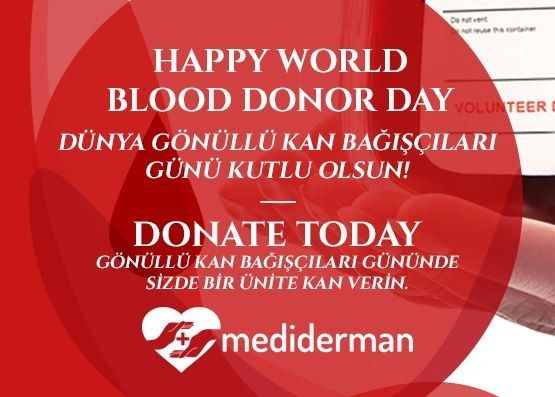 June 14 World Volunteer Blood Donors Day